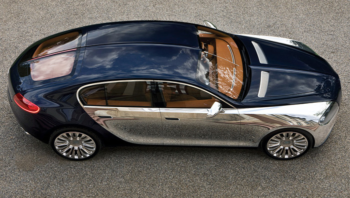 Шик и блеск Bugatti.