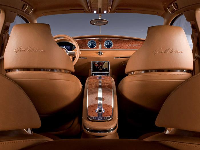 Bugatti Galibier 16C - роскошный монстр от Bugatti.