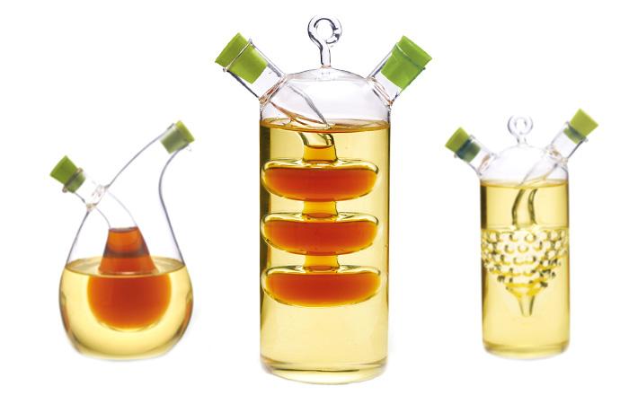 Оригинальная бутылочка для масла и уксуса.