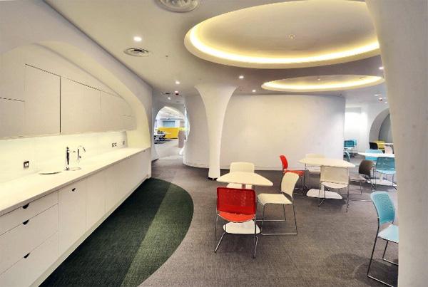 Дизайн новой штаб-квартиры bwin.party от компании Ranne Creative Interiors