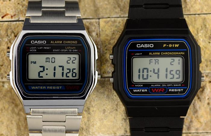 Культовые модели наручных часов Casio.