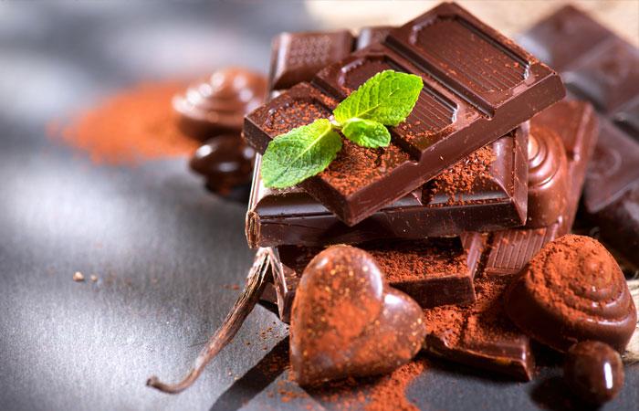 Шоколад: на волне позитива.