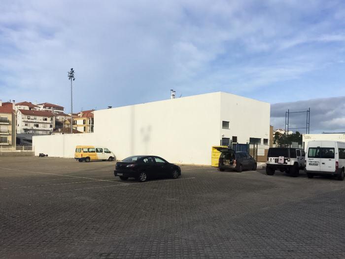Здание «Clube 39» до начала работы Ярослава и Илоны Галант.