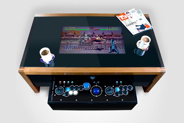 Arcade Table - кофейный столик для фанатов аркадных игр