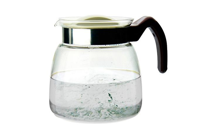 Стеклянный чайник для кипячения воды Colazione.