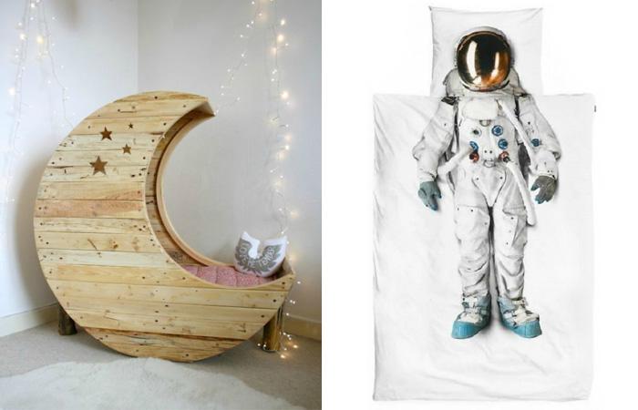 Космические вещи для дизайна интерьера.