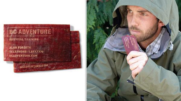 Визитная карточка специалиста по выживанию