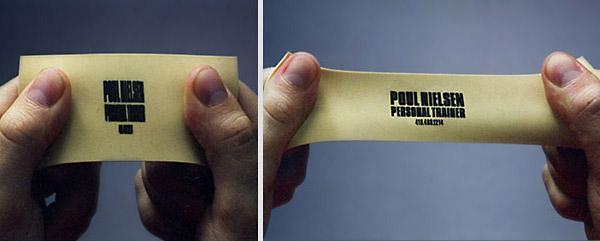 Визитная карточка персонального тренера по физподготовке.