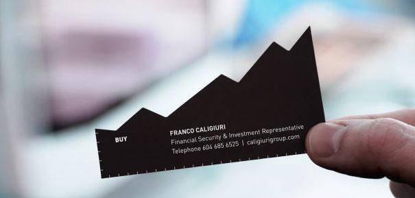 Визитная карточка для инвестиционной компании.