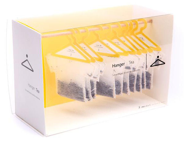 Оригинальные чайные пакетики. Дизайнер Soon Mo Kang.