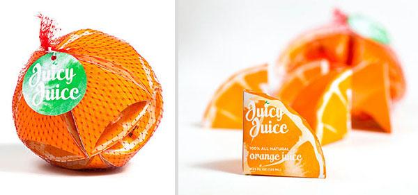 Сочная упаковка для сока. Дизайн Preston Grubbs.