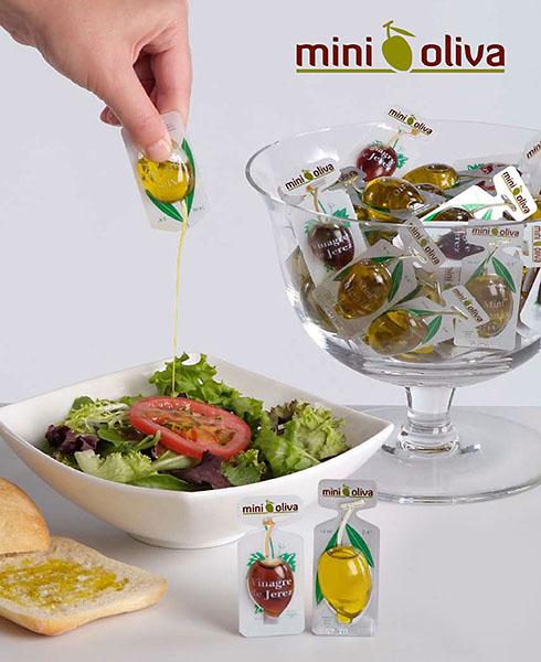 Мини-упаковка для оливкового масла.