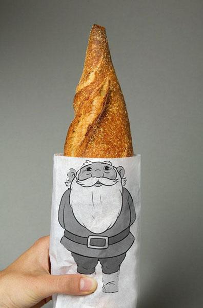 Хлебный гном. Дизайн  Lo Siento Studio.