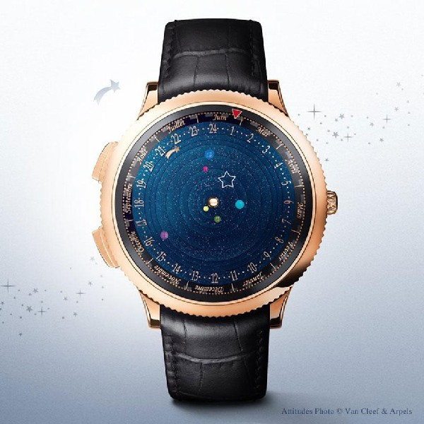 Наручный планетарий  часы в виде солнечной системы a5ddfb6f93c