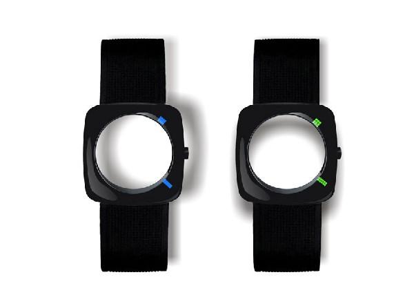 Минималистичные наручные часы Eye of the Storm