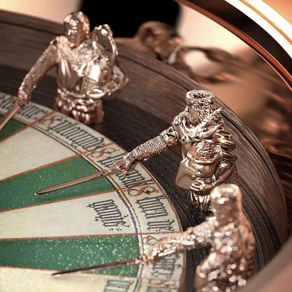 Наручные часы «Рыцари круглого стола» за $217959