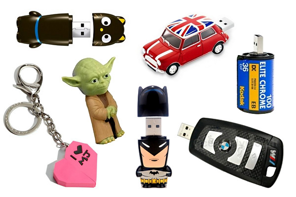 Оригинальные подарочные USB-флешки, которые можно купить в России