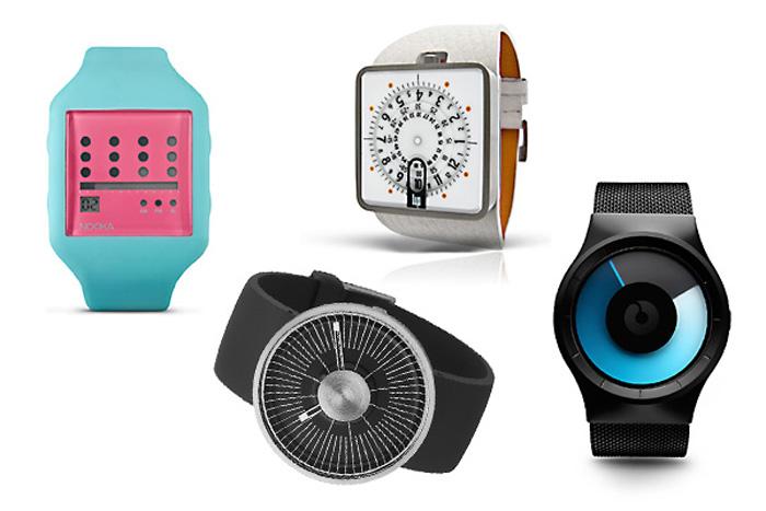 Обзор необычных дизайнерских часов