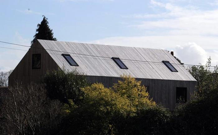 Дышащая мембрана DuPont обеспечивает скрытую защиту экологичного здания в Бристоле.