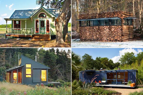 Одиннадцать оригинальных дачных домиков со всего мира