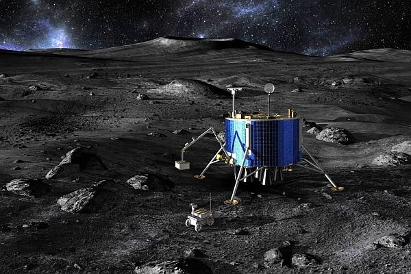 Европейские планы освоения Луны