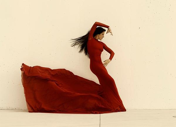 Испанская танцовщица фламенко Мария Пахес.