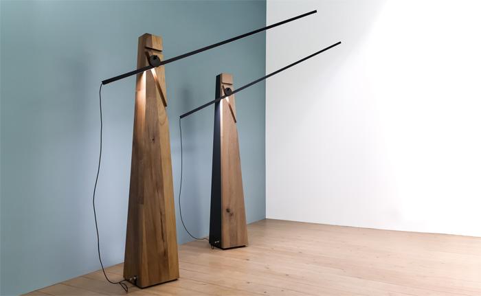 Ультрасовременный дизайн в сочетании с деревянной фактурой.