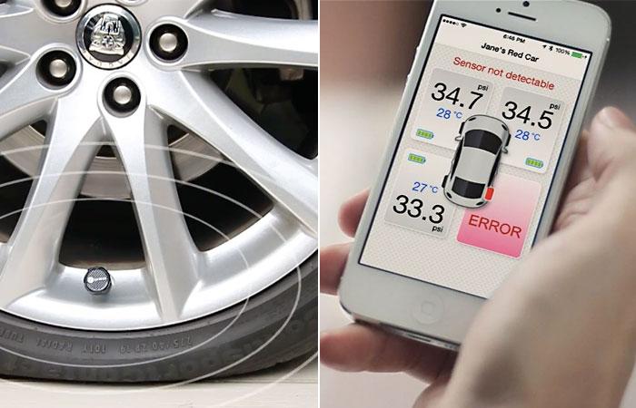 «Умные» датчики для автомобильных шин.