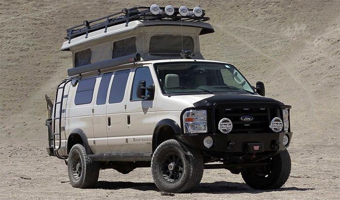 Дом на колёсах от компании Ford.
