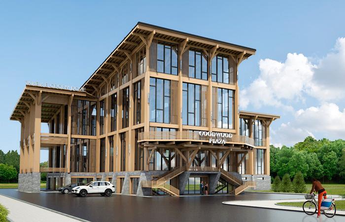 Где и как строится самое высокое в мире офисное здание из дерева