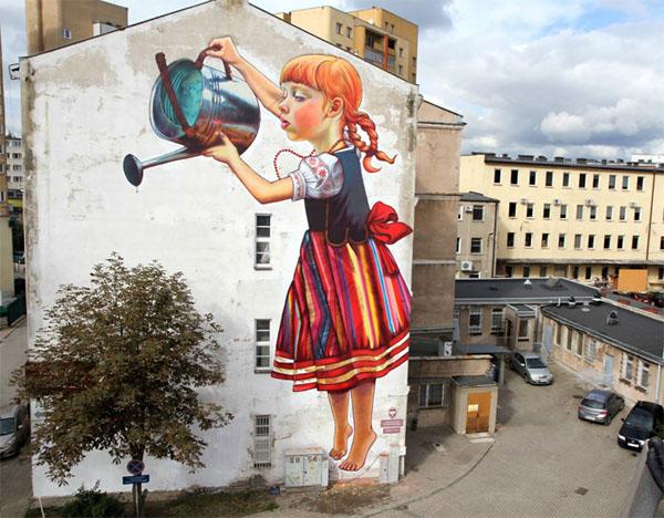 Художница Natalii Rak, Польша.