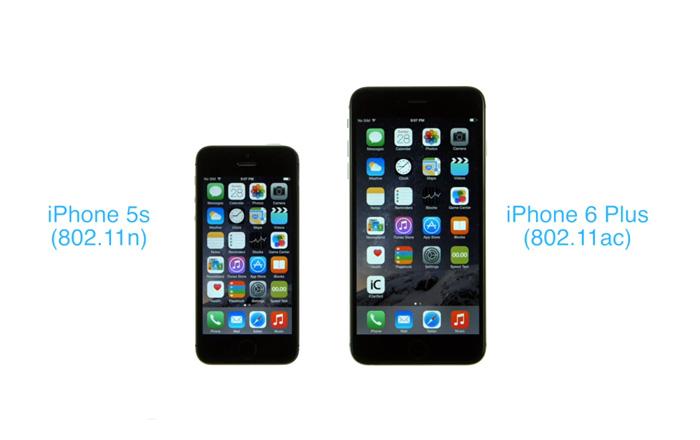 Сравнительный видео-тест скорости работы Wi-Fi на iPhone 6 Plus и iPhone 5 S