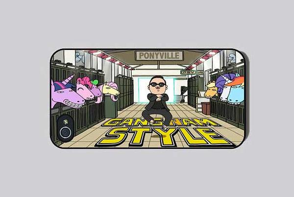 Чехол на iPhone 4 в стиле Gangnam Style