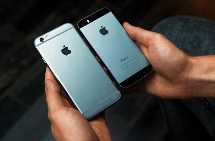 Видеообзор  iPhone 6  и  его сравнение с предшественником — iPhone 5S