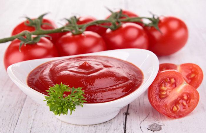 Кетчуп: красивая кожа и здоровое сердце.