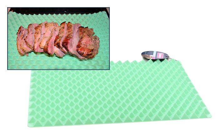 Силиконовый рельефный коврик для запекания.