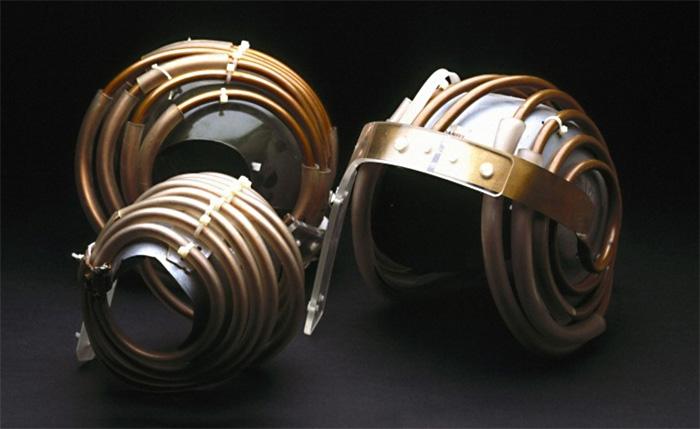 Джедайский шлем для МРТ. Музей науки,  Лондон, Великобритания.