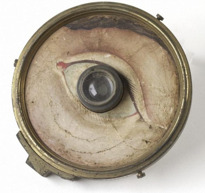 Модель глаза. 1840-1900 гг. Библиотека Уэллкома, Лондон, Великобритания.