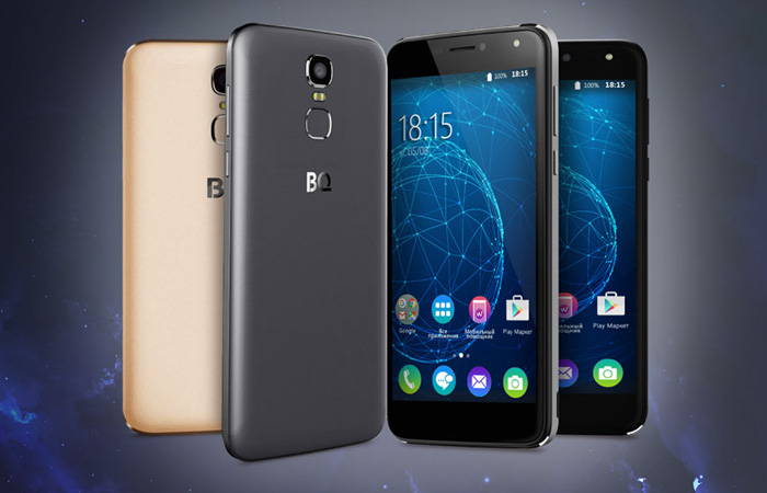 Двухсимочный смартфон BQ BQS-5520 Mercury.