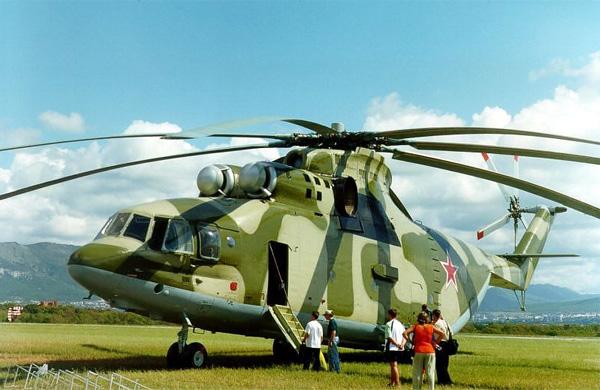 Ми-26 – самый большой вертолёт в мире