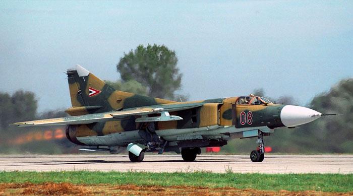 Многоцелевой истребитель МиГ-23.