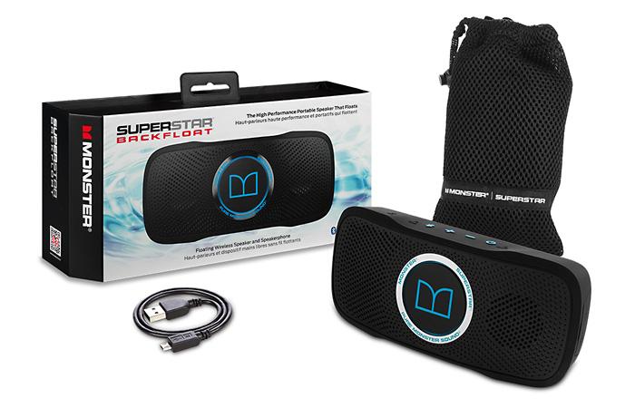 Плавающая водонепроницаемая Bluetooth-колонка для отдыха на воде.