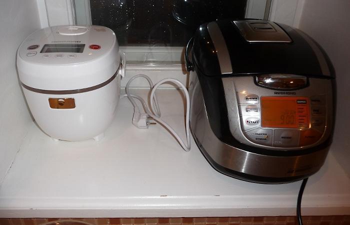 Мультиварка - ідеальне рішення для маленької кухні.
