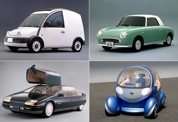 10 самых оригинальных моделей Nissan