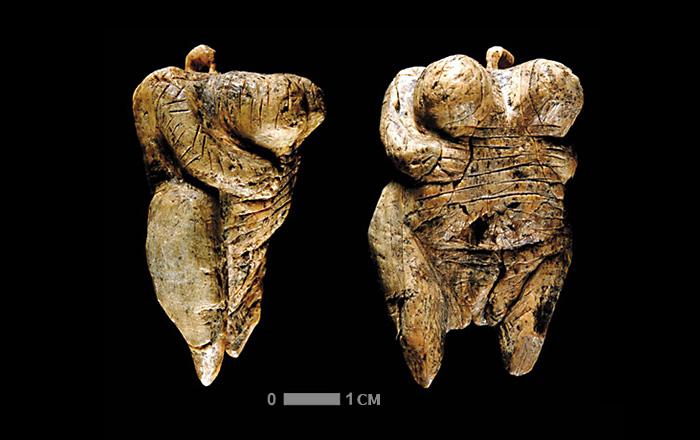 Самая древняя в мире антропоморфная статуэтка