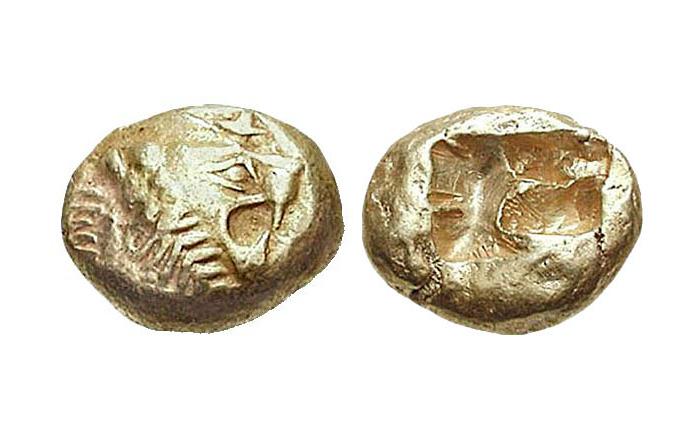 Картинки по запросу Древняя монета (2700 лет)