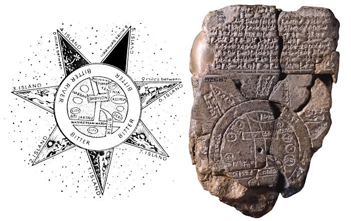 Самая древняя  карта мира
