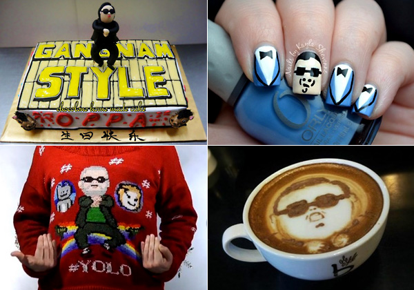 Лучшие примеры Oppa Gangnam Style гаджетов, одежды, предметов быта и декора