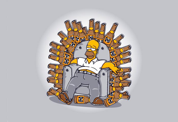 Игры престолов Гомера Симпсона