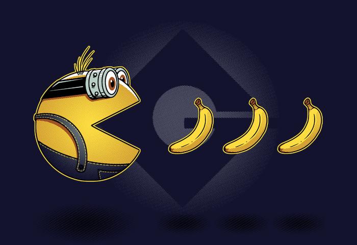 Миньон - Pac-Man